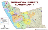 Map of Alameda County