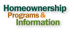 Homeownership & Program Information Graphic.