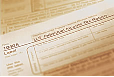 picture of an irs form