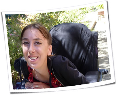 Photo of a person with a disability.