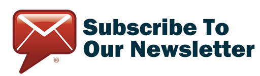 an email icon saying 'subscribe to our newsletter'
