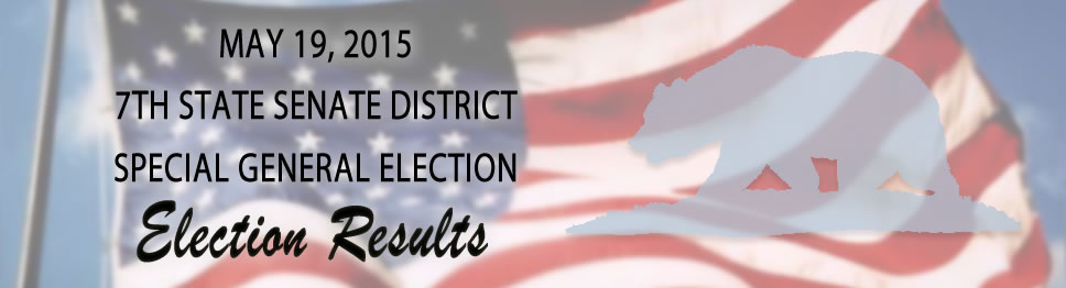Unofficial May 19th Election Results