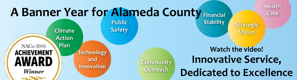 Watch the video on Alameda County's many achievements in 2015 and 2016!