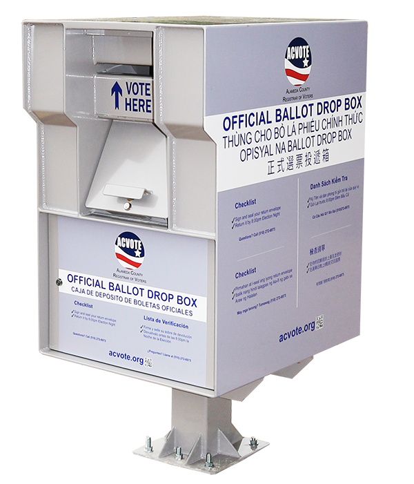 photo of ballot drop box
