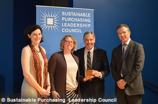 2015 Sustainable Purchasing Leadership Council award ceremony