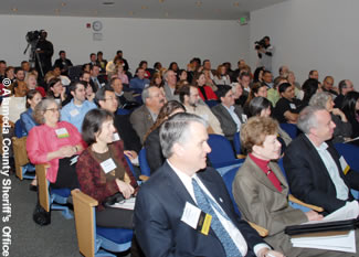 Photo of people attending the Climate Action Forum.