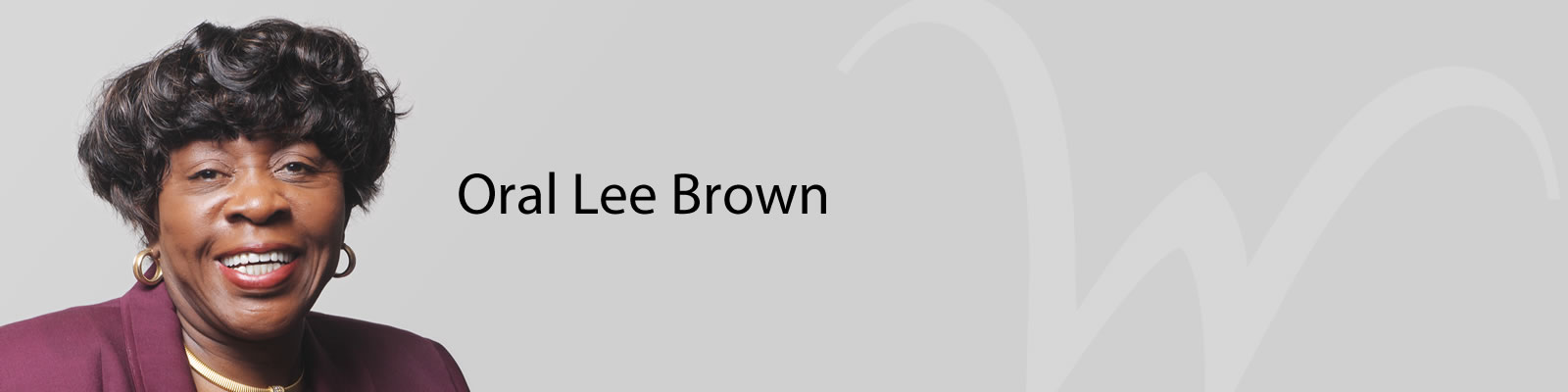 Image of Oral Lee Brown