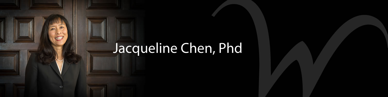Photo of Jacqueline Chen, PhD
