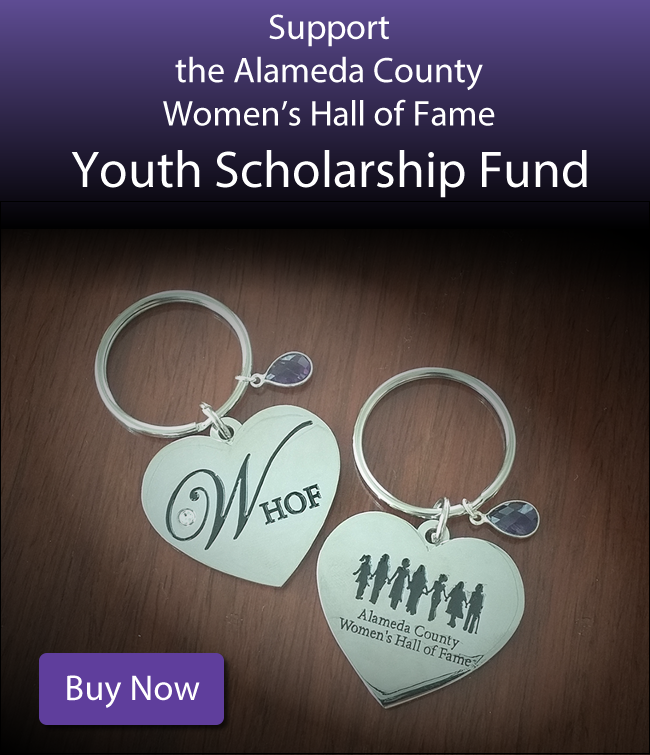 Support the Women's Hall of Fame Youth Scholarship Fund: Purchase a Women's Hall of Fame Keychain