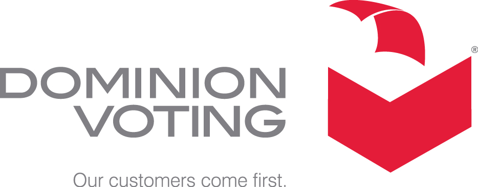 Logo for Dominion Voting Systems