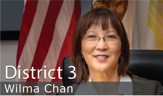 District 3 - Wilma Chan