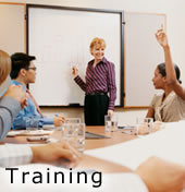 Photo of a training class.