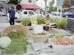 Photo of a Farmer's Market.