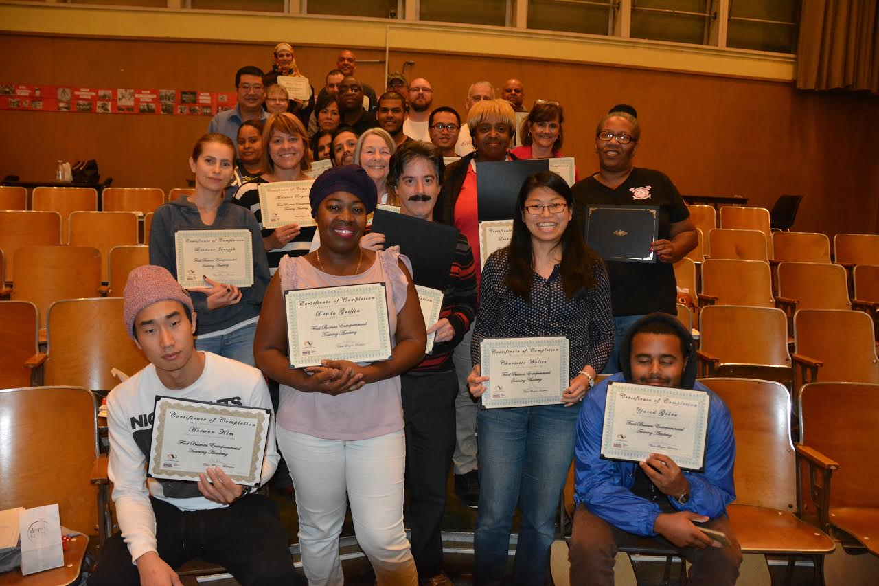 2016 Cherryland Food training Graduates