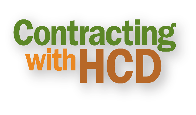 Contracting with HCD Graphic.