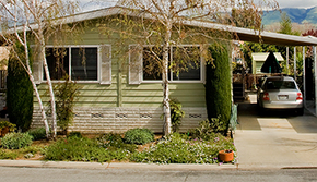 Mobile Home Park Graphic Photo