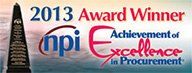 Achievement of Excellence in Procurement Award logo