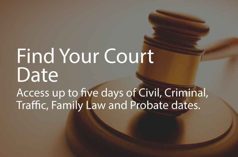 Will county court dates