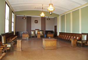 Photo of the Navy Hall